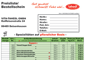 Preisliste - Download