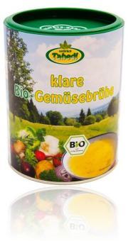 Klare Bio-Gemüsebrühe
