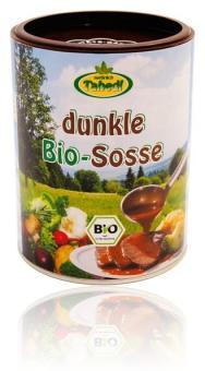 Dunkle Bio-Soße